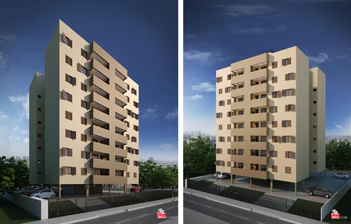 Edificio Residencial Goitacaz - G Ghem Engenharia