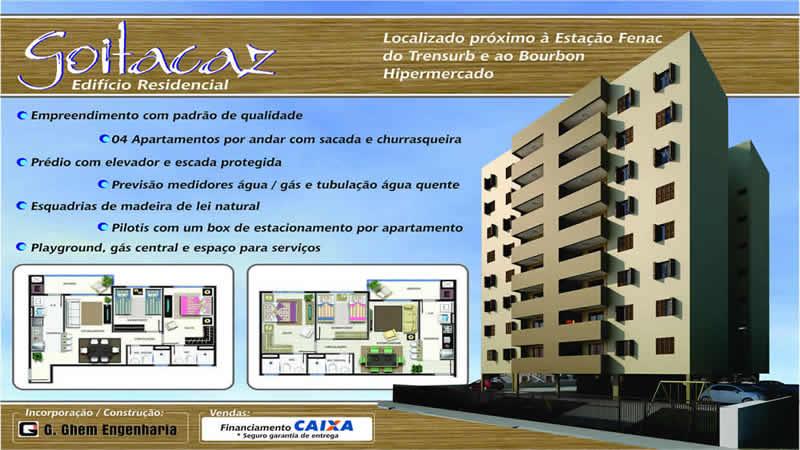 Folder Edificio Goitacaz CEF
