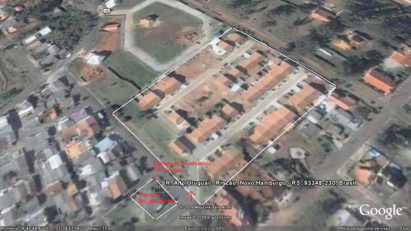 Residencial Alto Uruguai - aera