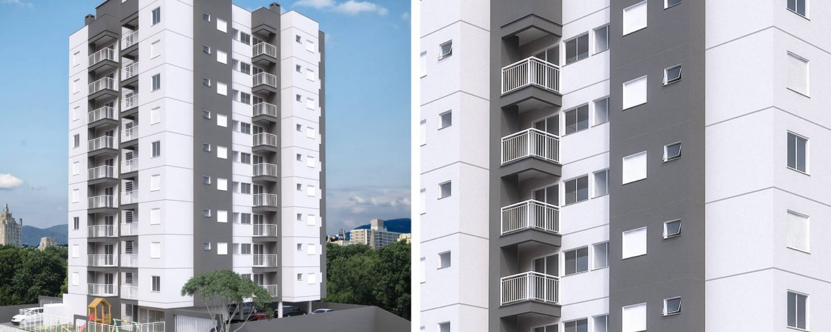 Edificio Residencial Ideal Fachada em Novo Hamburgo - G Ghem Engenharia2