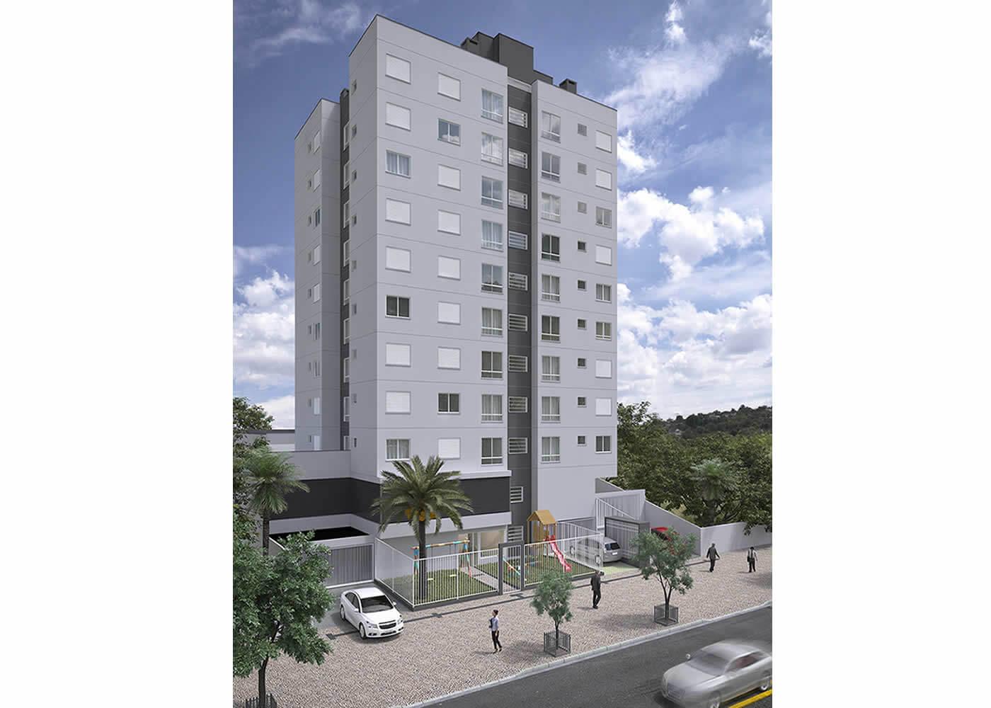 Edificio Residencial Bento Gonçalves II - G. Ghem Engenharia