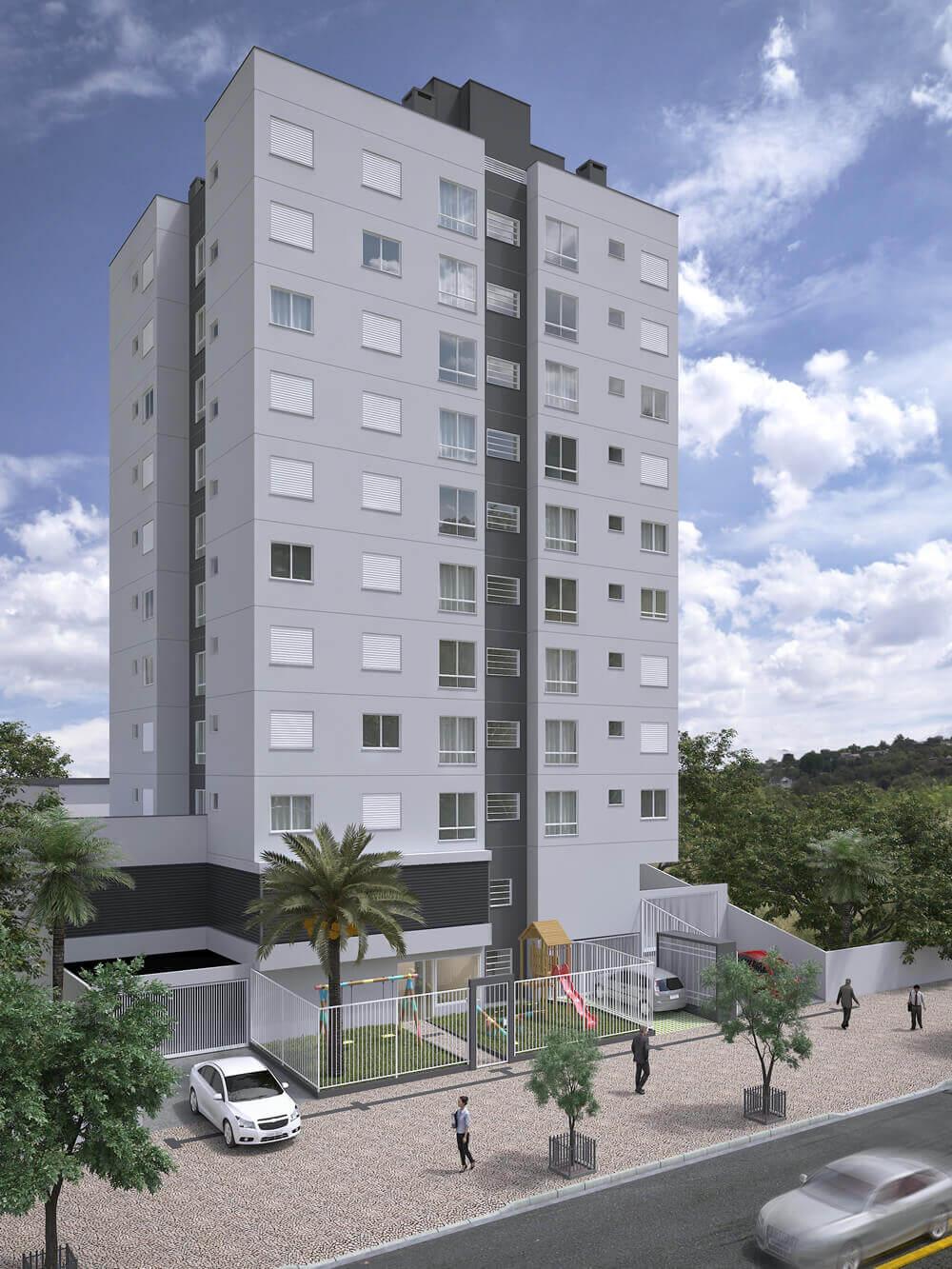 Edificio Residencial Bento Gonçalves II - Fachada
